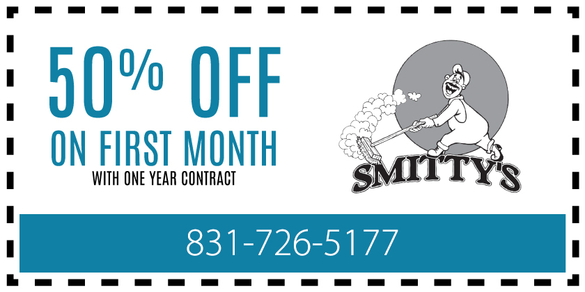 50% Off on first month with one year contract